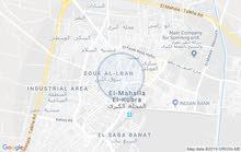 شقة للايجار اداري مساحة 225 متر خلف البنك الاهلي بمحب بالمحلة