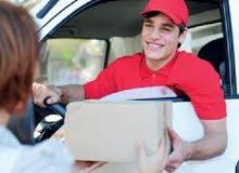 مطلوب سائقين توصيل في المنطقة الجنوبية 9 ريال لكل شحنة