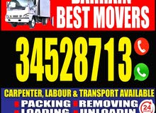 low price house shifting and professional carpenter
