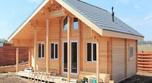 TEMPER HOUSE 2  لبناء منازل الخشب العصرية الحديثة