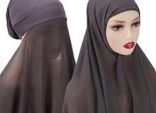 شيلة حجاب العرض4قطع ب110درهم