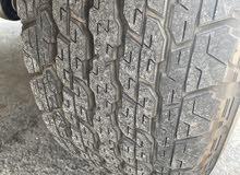 Nissan patrol tires model 2020