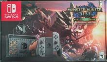 brand new Nintendo switch monster hunter rise