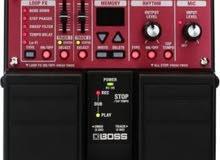 للبيع جهاز تحكم صوت وايقاع وتسجيل للجيتار