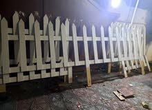 تفصيل سياج خشبي