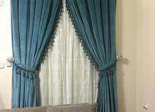 making new sofa, majlis, curtain. Recovering old sofa, majlis.