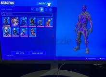 OG Fortnite Acc [ Renegade + OG skull + 210+Skins ]
