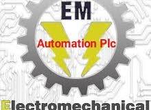 مهندس كهرباء انظمة تحكم صيانة منشاءت