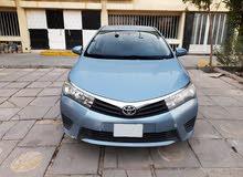 Installments Corolla 2015 Blue _ 500 kd discount
