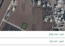 قطعة ارض للبيع غرب مستشفى النديم حوض الجازل مساحه 807 متر على شارع 12متر مخدوم