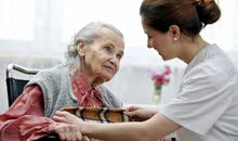 care and help for old people