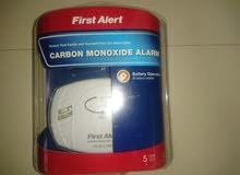 جهاز إنذار بالبطاريه للانذار من غاز أول أكسيد الكربون CO