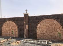 اشغال ديكور تراثي و شلالات و شوايات ومظلات وتنسيق حدايق