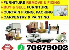 shifting moving carpenter and transportation services