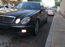 Black Mercedes Benz E 230 2005 for sale