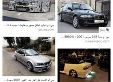 km BMW 318 2019 for sale