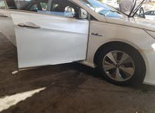 Automatic White Hyundai 2015 for rent