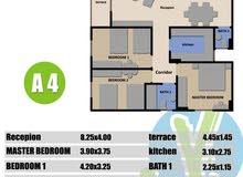 تملك شقة بفيرا تورز عمارة كومبليكس علي مساحة 1400  بالهضبه الوسطي