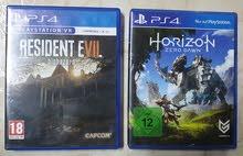 للبيع لعبتين PS4 سعر اللعبه 3 دينار