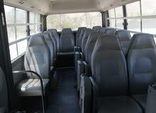 يوجد لدي باص هاينداي للايجار موديل 2013 نظيف ومكيف 25 راكب