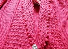 medium size jacket and long sweater