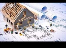 مهندس ومقاول لخدمات البناء والعظم والصيانه