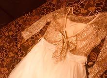 فستان سهرة  حجم 38-42 بسعر مغري