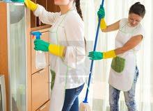مطلوب بنت للتسويق الخارجي و الإشراف في مجال التنظيف