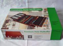 علبة الوان premium holz malkoffer