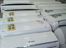 للبيع جميع انواع المكيفات المستعمله اسبلت وشباك شبه جديد بضمان لتواصل 0538224066