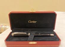 للبيع قلم وكبك كارتير Cartier اصلي