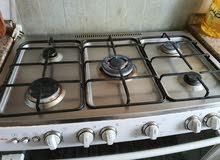 5 Burner Cooking rang with small size Ajman Cylinder