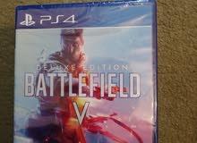 لعبة Battlefield V نسخة Deluxe على PS4 - جديدة