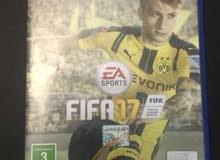 Fifa 17 انجليزية و عربية للبيع .. PS4