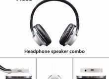 سماعات Hopestar بلوتوث لاسلكية قابلة للطي وتعمل كسماعة خارجية مكبر صوت