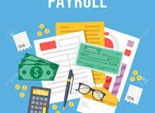 محاسب خبرة في الادارة المالية + خبرة في المنظومات المحاسبية والاكسل