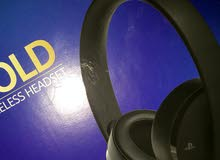 Headset Playstion Gold