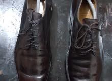 حذاء جلد بني فاخر من الماركة الانجليزية CROCKET AND JONES
