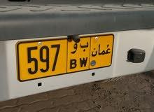 رقم اللوحه 597 ب و