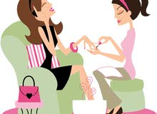 Home business, pedicure and manicure