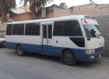 Blue Toyota Coaster 2011 for rent