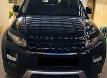 Land Rover Range Rover Evoque 2013 For sale - Black color