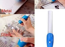 قلم الحفر على الأجسام الصلبة يعمل بالبطارية