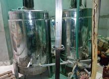 معدات لمصنع عصير أو تغذية