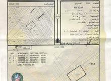 ولايه صحم  ديل ال عبد السلام  الارض زاويه تبعد عن شارع القنوت  560 متر  مستويه ونظيفه جدا