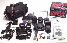 كاميرا كانون موديل rebel t3i مع المعدات بالصور