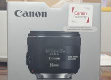 Brand new Canon Lens EF 35mm f/3 IS USM