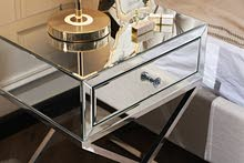 Brand New mirrored Side Tables