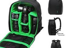 حقيبة كاميرا فيديو رقمية متعددة الوظائف حقيبة ظهر للكاميرا الرقمية مقاومة للماء