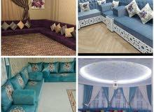 i Will making sofa wallpaper grass curtain new fixing call 66990374